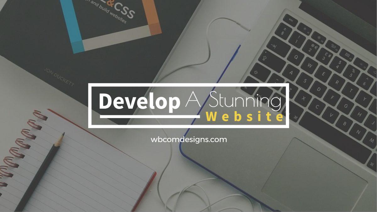 Develop A Stunning Website