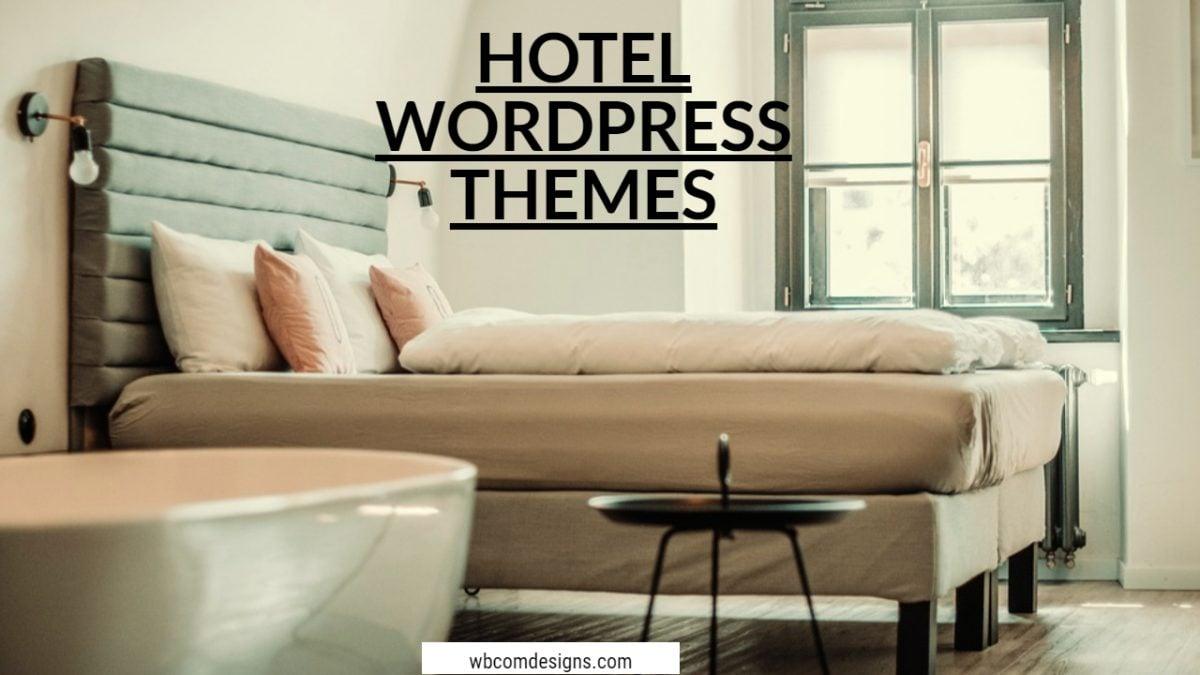 Hotel WordPress Themes - Wbcom Designs