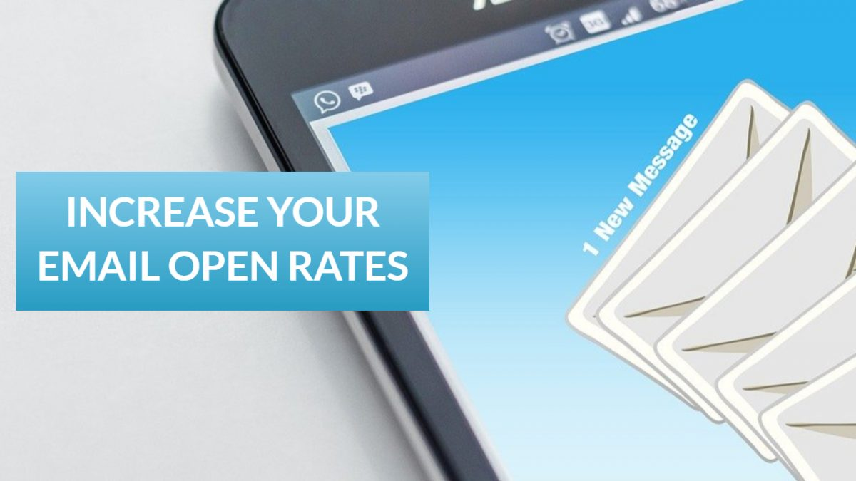Increase Your Email Open Rates