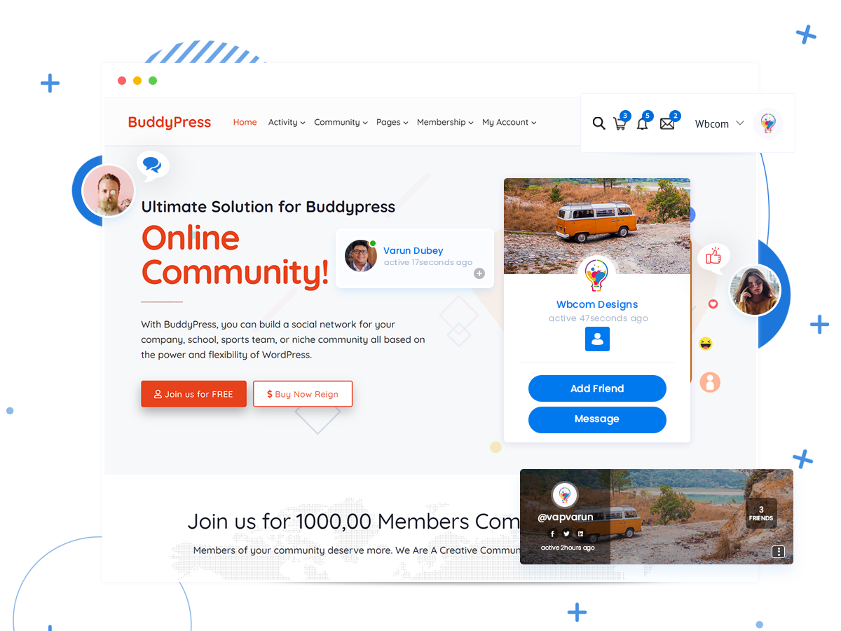 BuddyPress theme developers