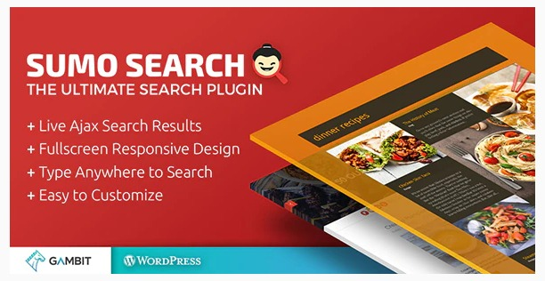 Sumo Search WP Plugin