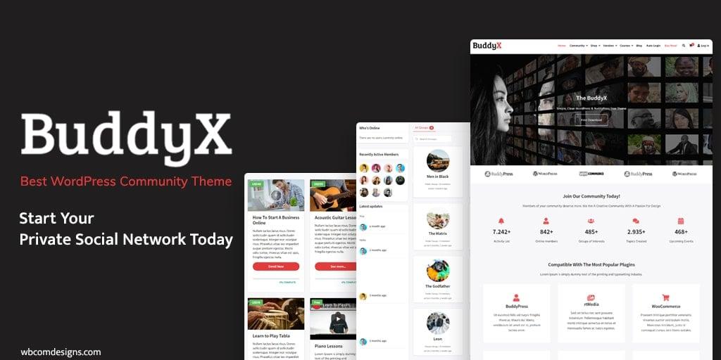 Free WordPress Social Network Theme