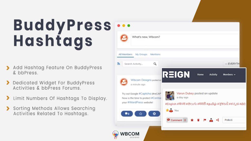 BuddyPress and bbPress hashtags