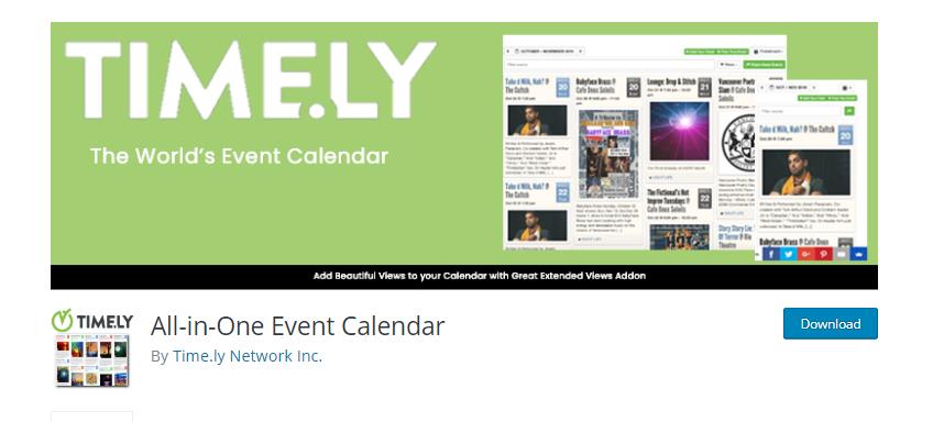Event Calendar Plugins