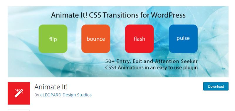 WordPress Animation plugins