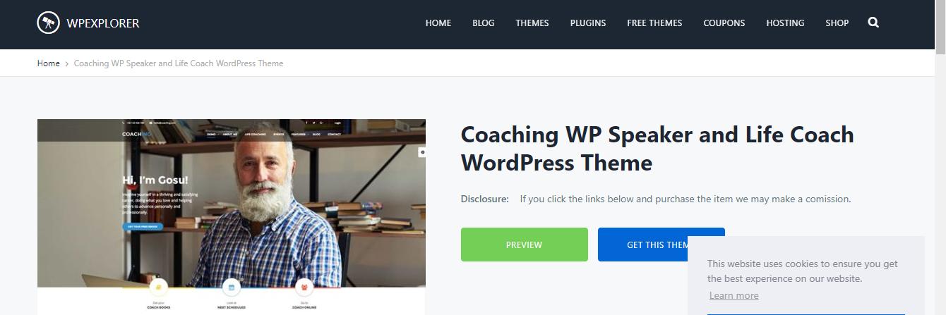 Speakers WordPress Themes