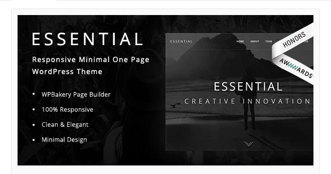 Essential - WordPress Auction Theme