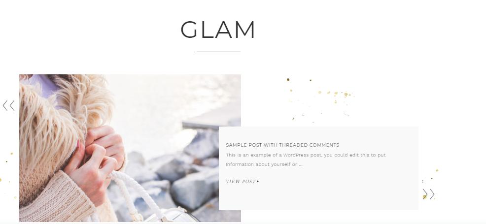 Glam Pro - Wbcom Designs