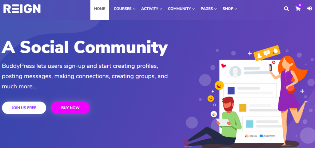 Adding Community Feature To Your School Website