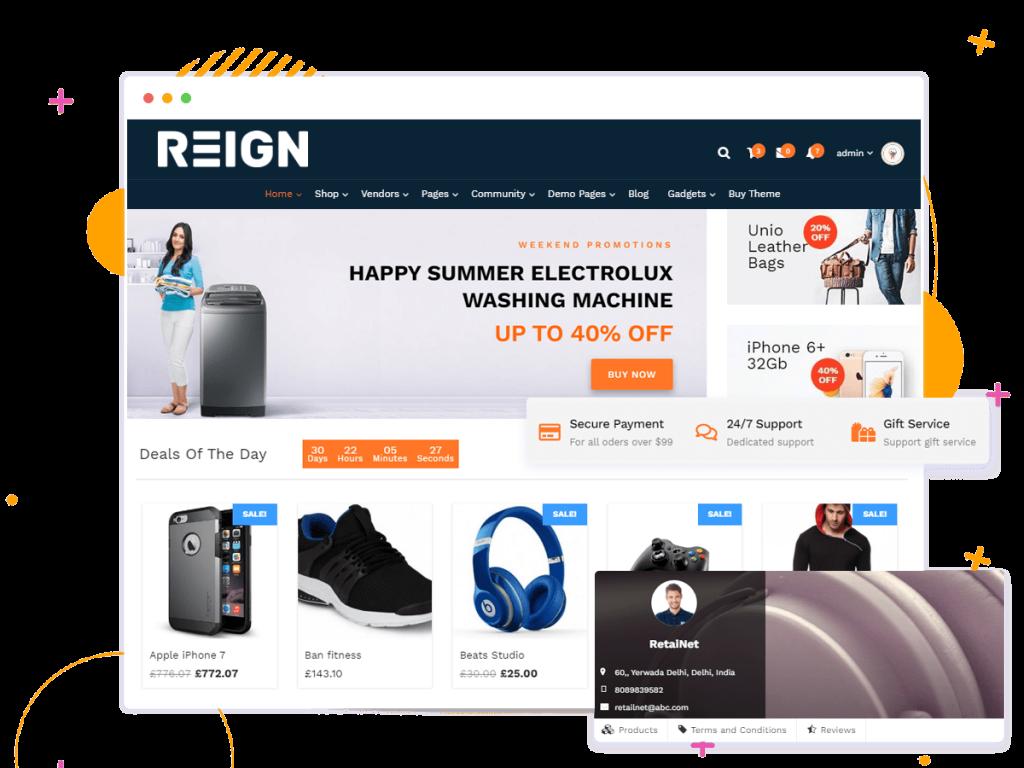E-commerce WordPress theme