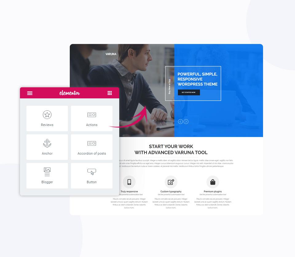 Elemetor Page Builder