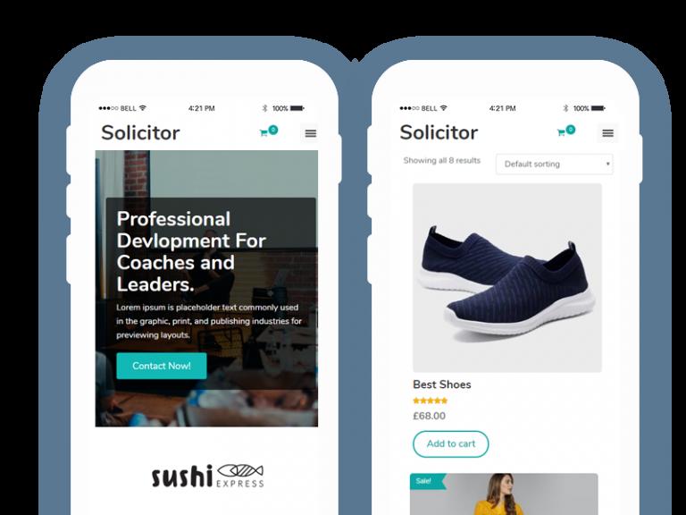 Mobile-Friendly WordPress Theme