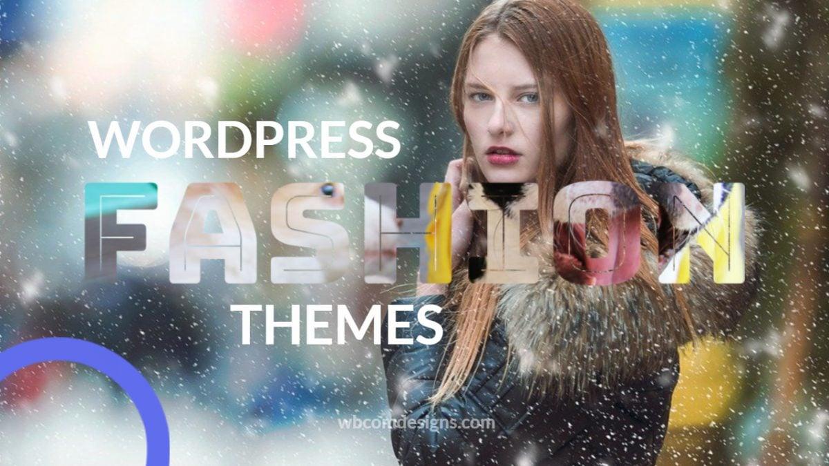 WordPress Fashion Themes