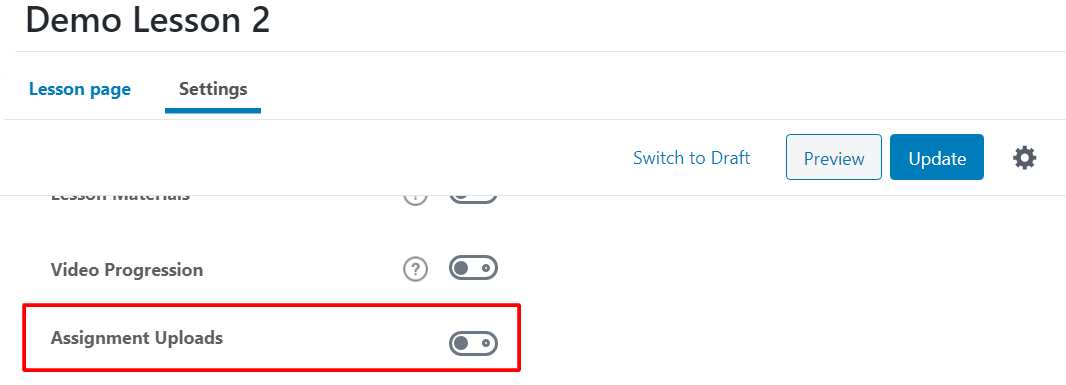 How To Add An Assignment Upload To LearnDash?