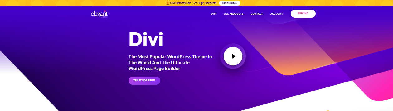 divi of digital agency worrdpress theme