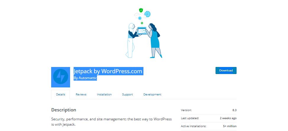 Jetpack Popular Post Plugins For WordPress
