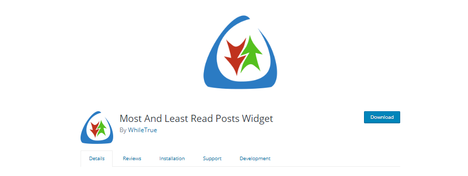 Most And Least Read Posts Widgets