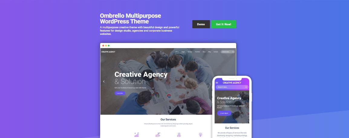 ombrello wordpress themes