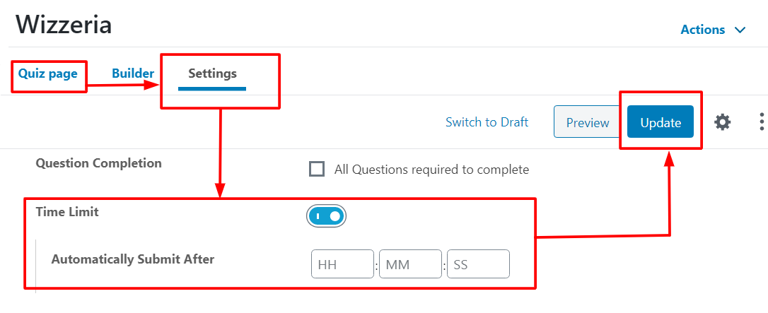 How to Add  LearnDash Quiz Question Timer