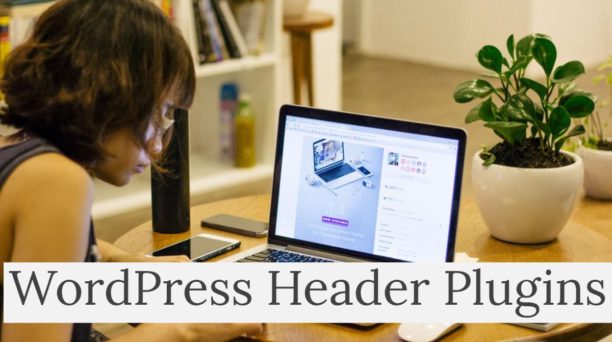 WordPress Header Plugins - Wbcom Designs