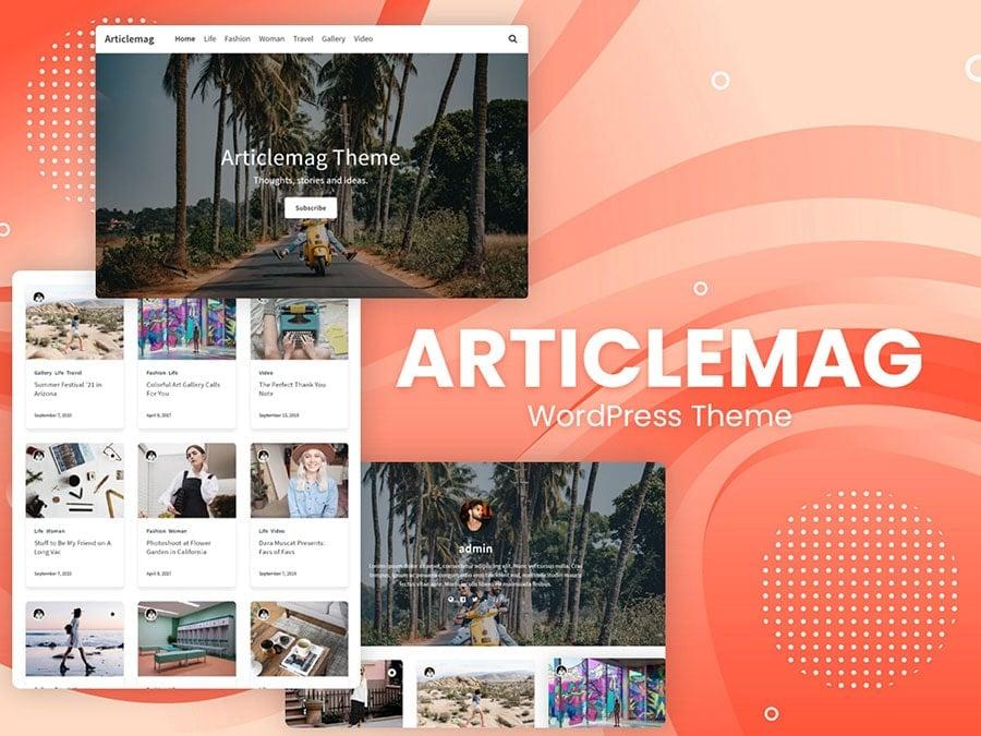 articlemag themes - Wbcom Designs