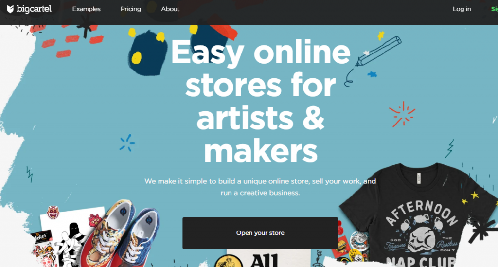 online store for artists