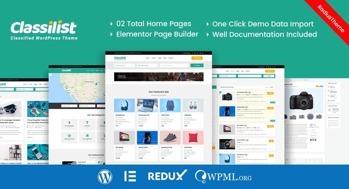 WordPress Classifieds Themes