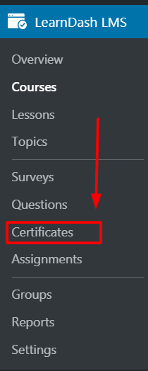 learndash course completion certificate