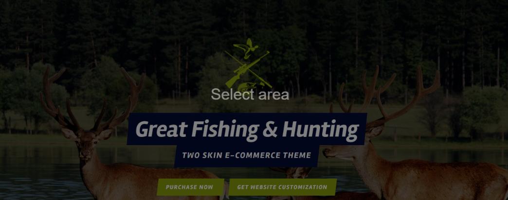 fishing and haunting