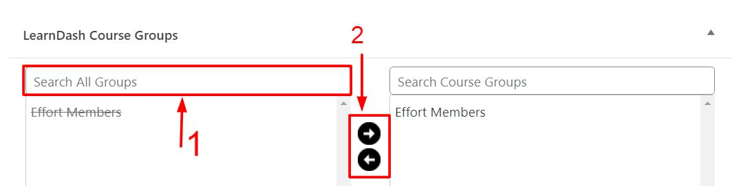 Create LearnDash Subgroups