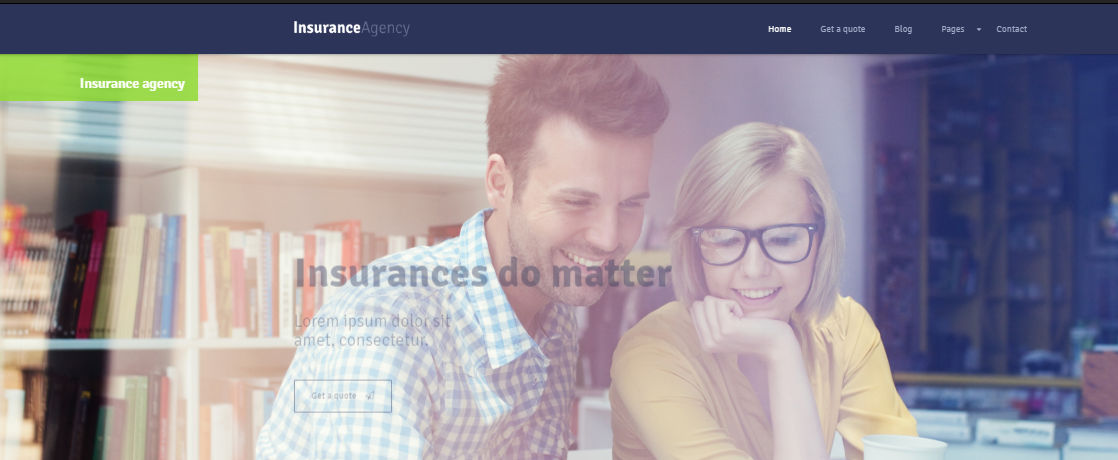Insurance WordPress Themes