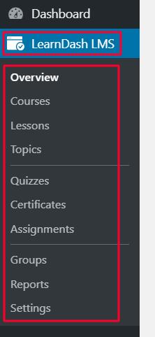 learndash options 1
