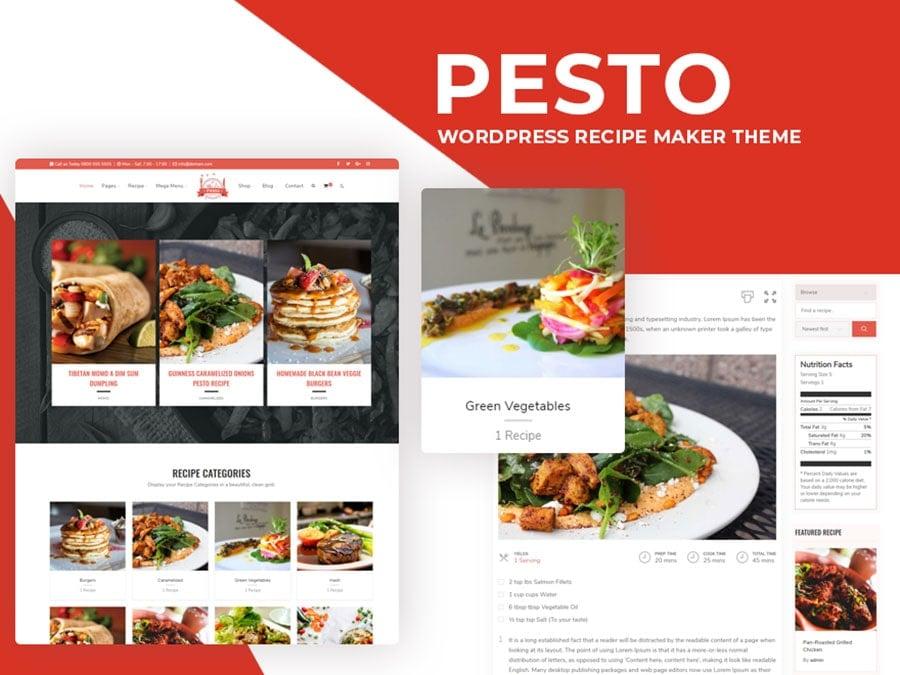 pesto theme - Wbcom Designs