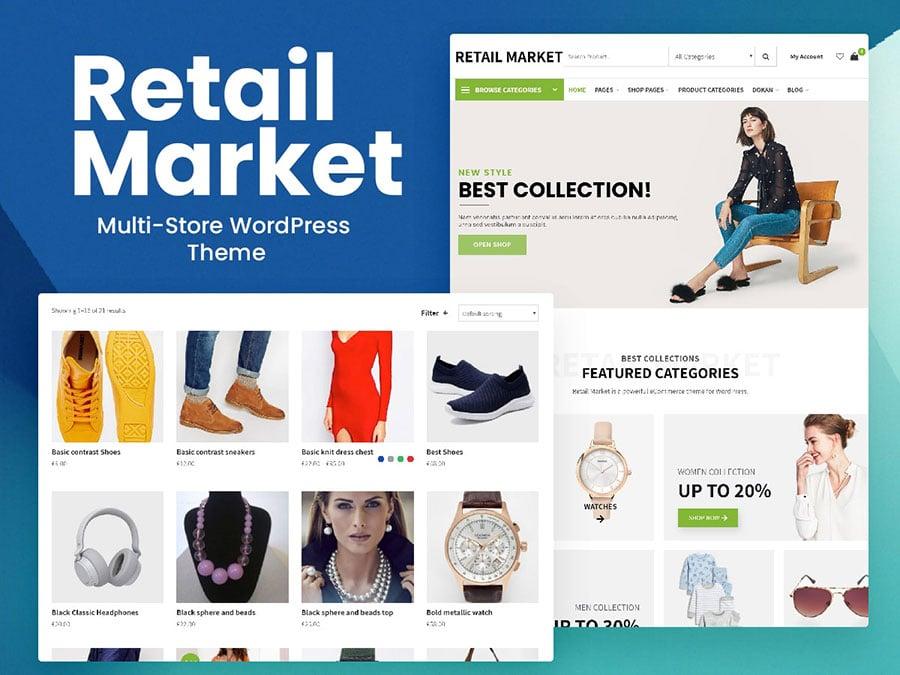 retail market - Wbcom Designs