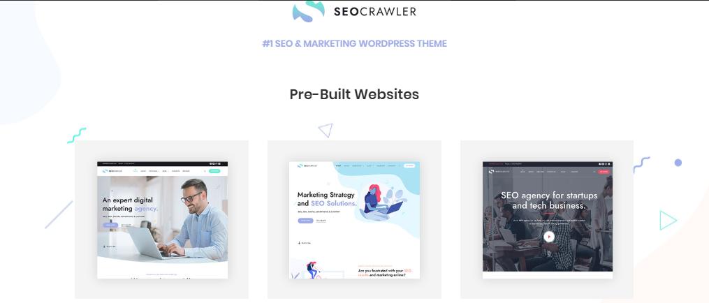 wordpress themes for SEO Crawler
