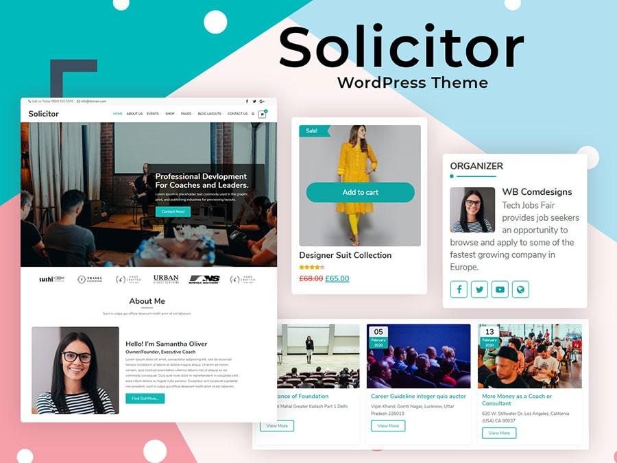 solicitor theme - Wbcom Designs