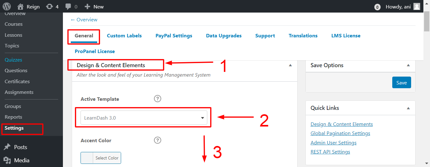 How To Access The Design Upgrade For LearnDash