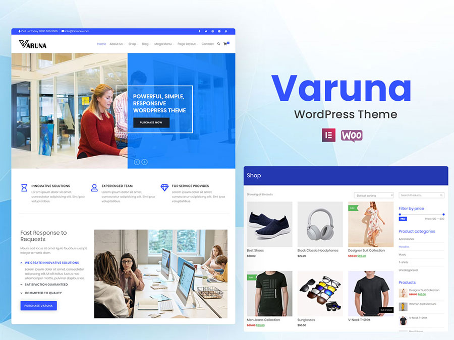 varuna - Wbcom Designs