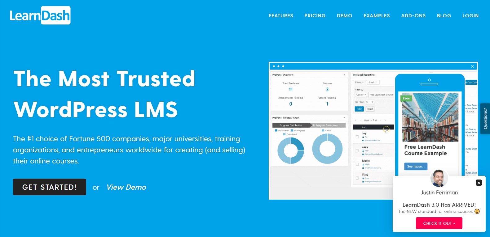 WordPress LMS