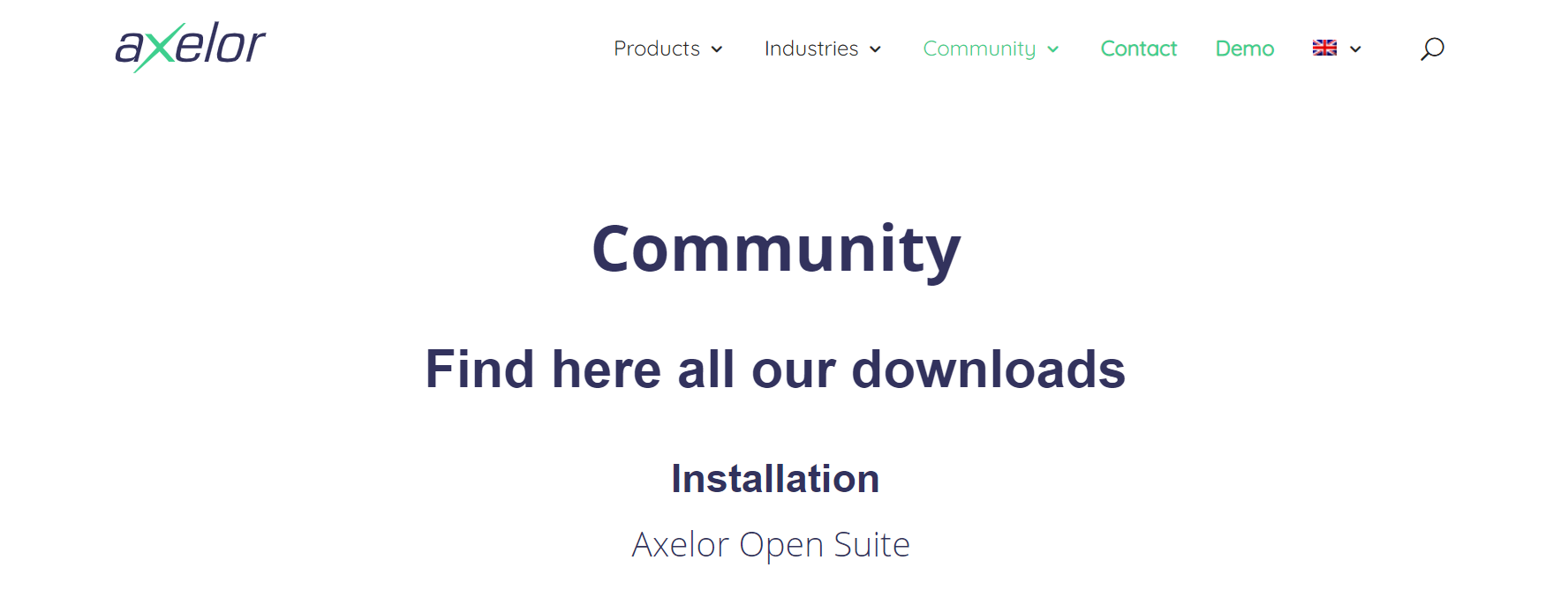 axelor erp for Open Source ERP Systems