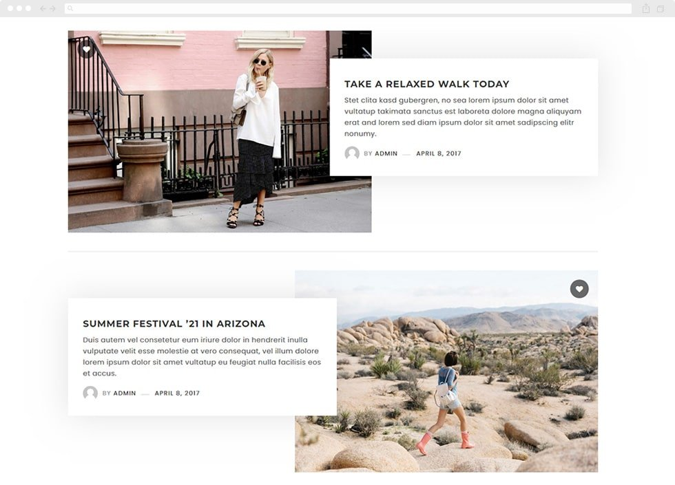 Blog Archive Layouts