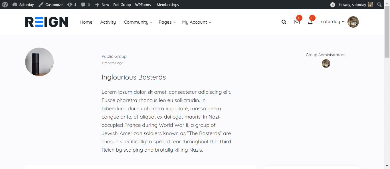 BuddyPress Registration Widget Plugin Review