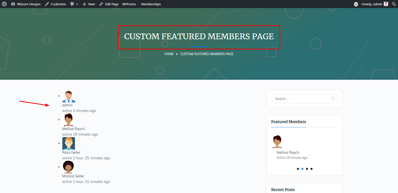 BuddyPress Featured Members Plugin Review