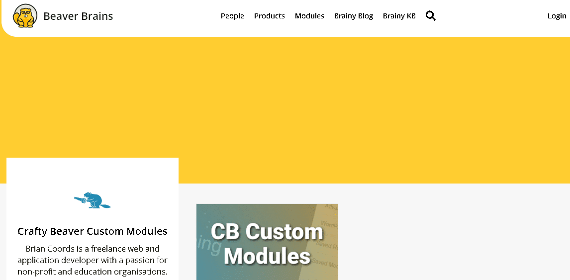 Crafty-Beaver-Custom-Modules