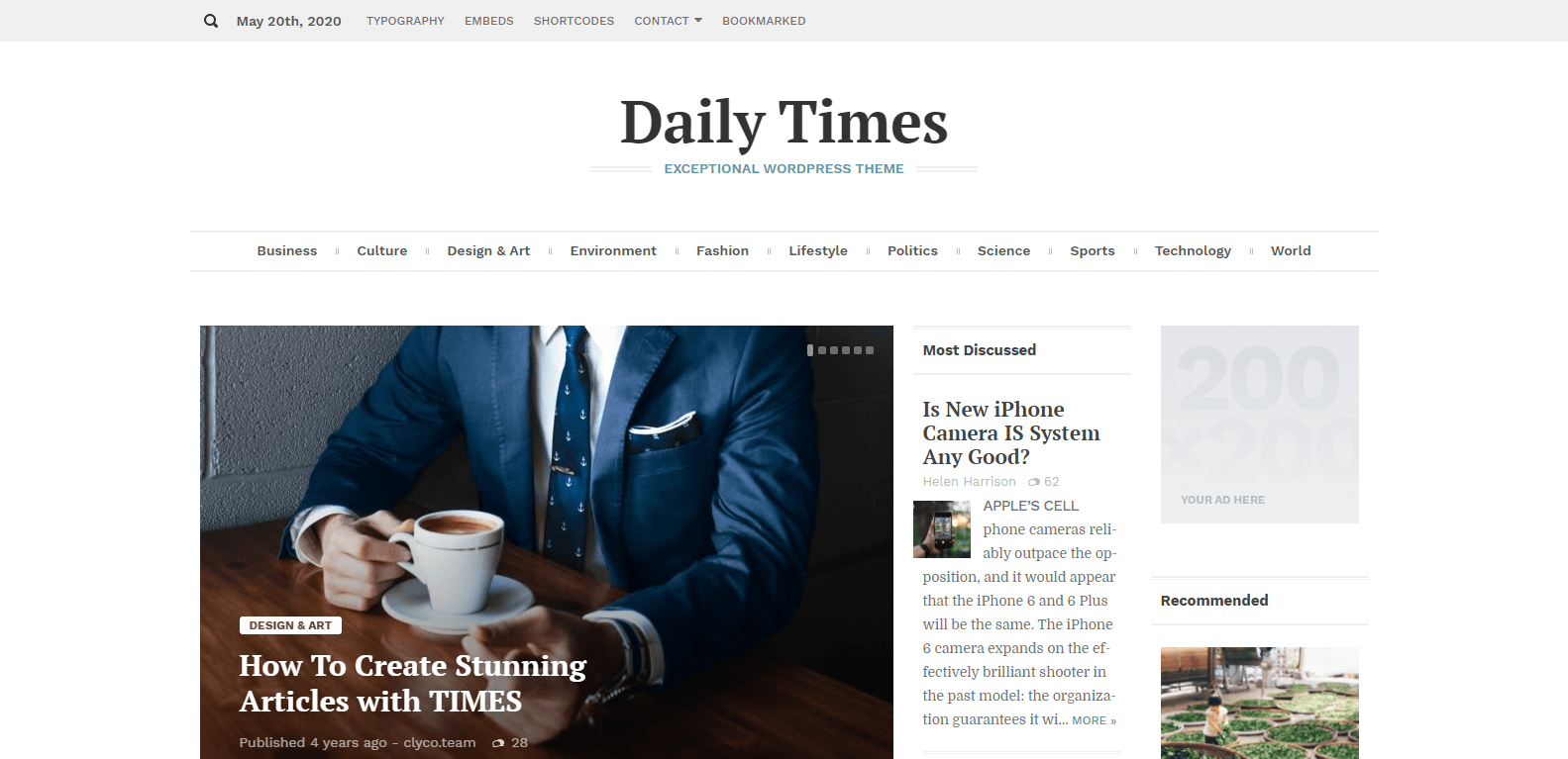 the-times-theme