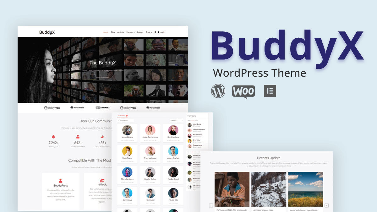Buddyx WordPress Theme