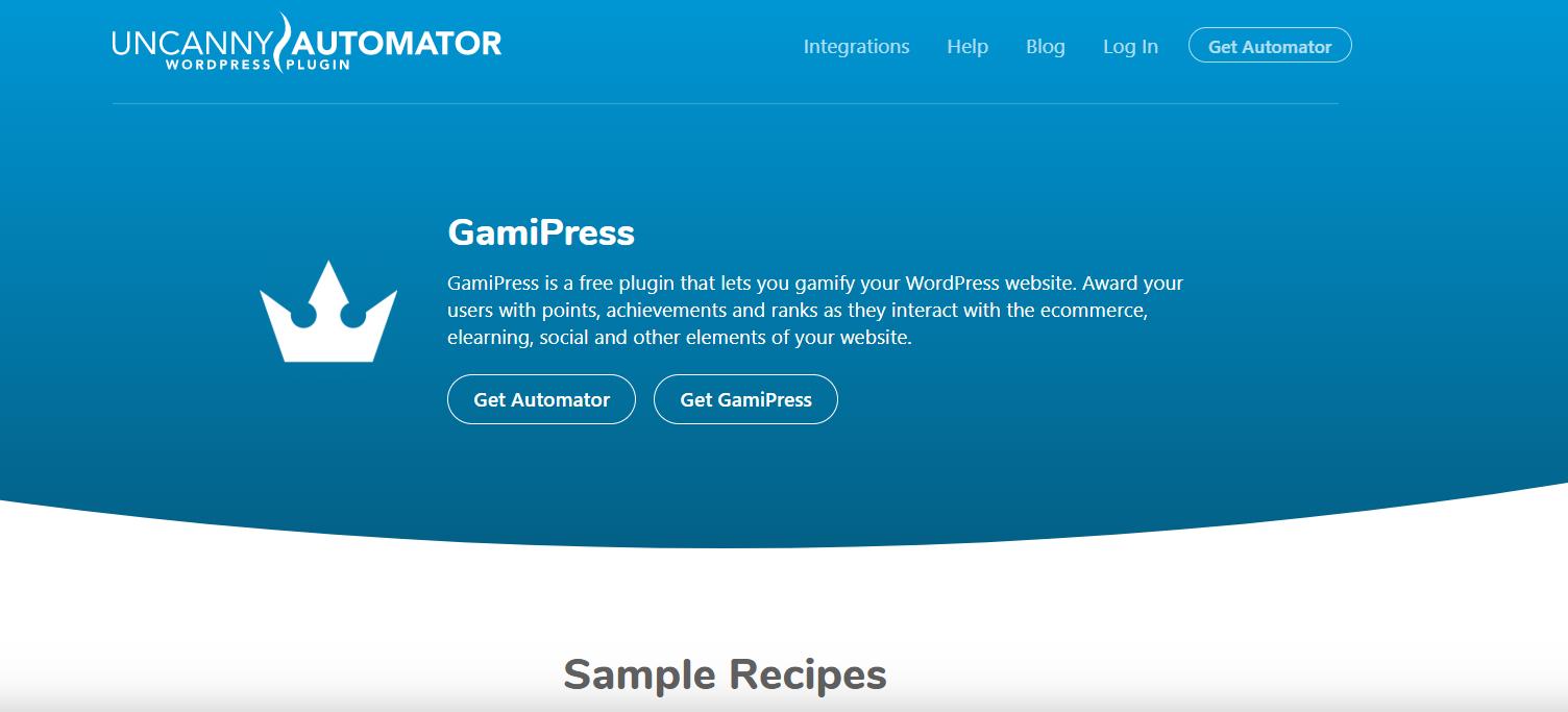 Best Gamipress Integration For WordPress