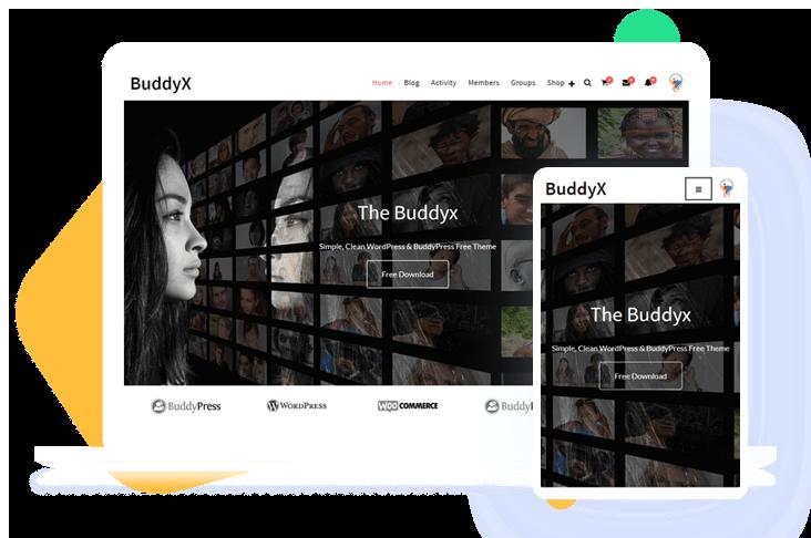 BuddyX WordPress Theme