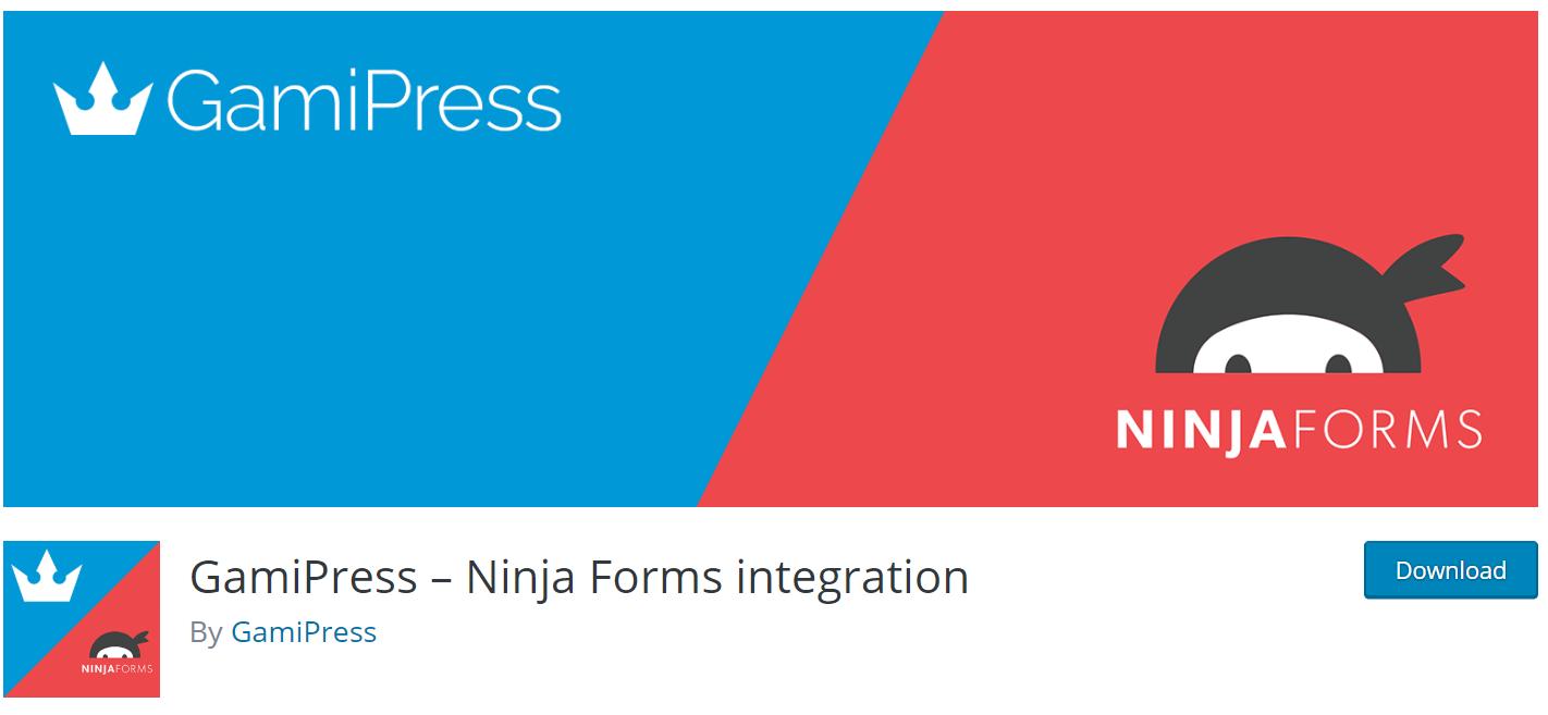 ninja form integration