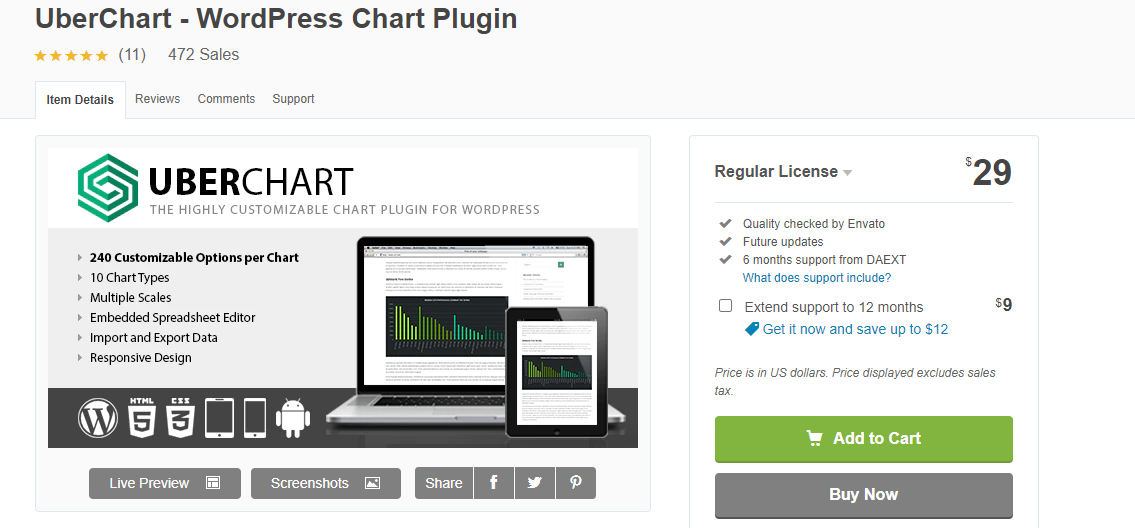 WordPress Visualization Plugin